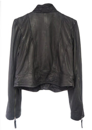 MDK Rucy Leather Jacket Black