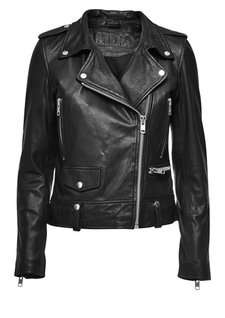 MDK Seattle Leather Jacket Black