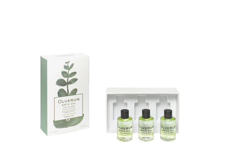 Olverum Bath Oil Deluxe Travel Set