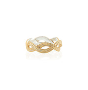Anna Beck Braided Stacking Ring Gold