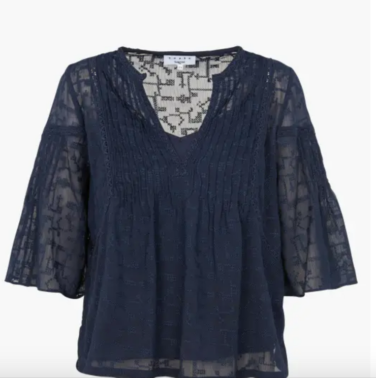 Suncoo Lucy Top Navy