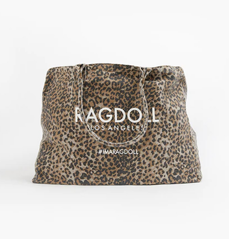 Ragdoll Holiday Bag Brown Leopard