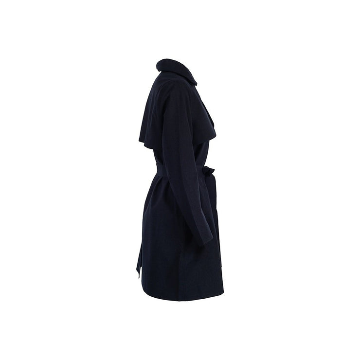 BRGN Yr Coat Dark Navy