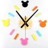 Cute Mouse Wall Clock