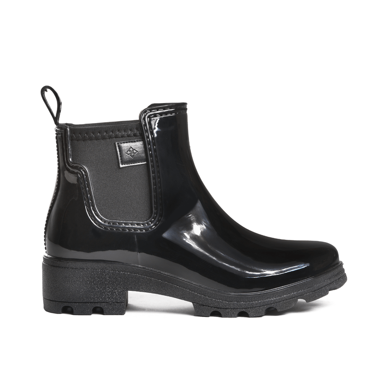 Prague Black Ankle Boot