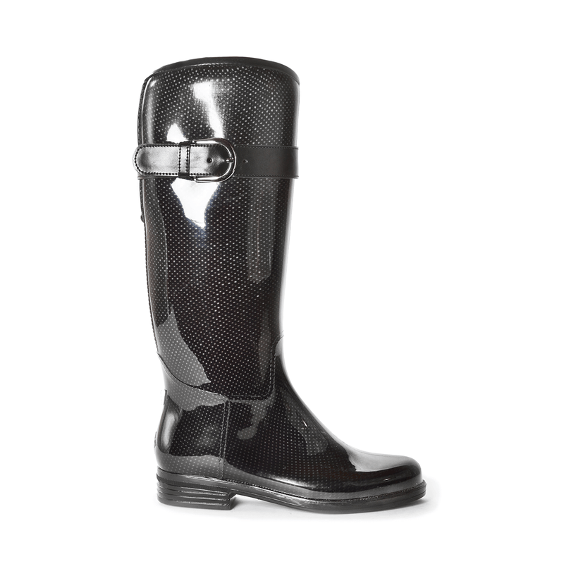 Bristol Mesh Black Tall Boot
