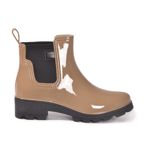 Prague Khaki Ankle Boot