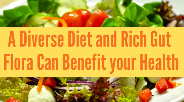 A Diverse Diet and Rich Gut Flora Can Benefit your Health