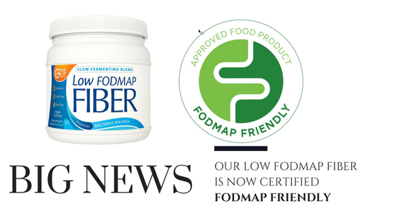 Great Gut's® Proprietary Low FODMAP Formula Receives Esteemed FODMAP Friendly Certification