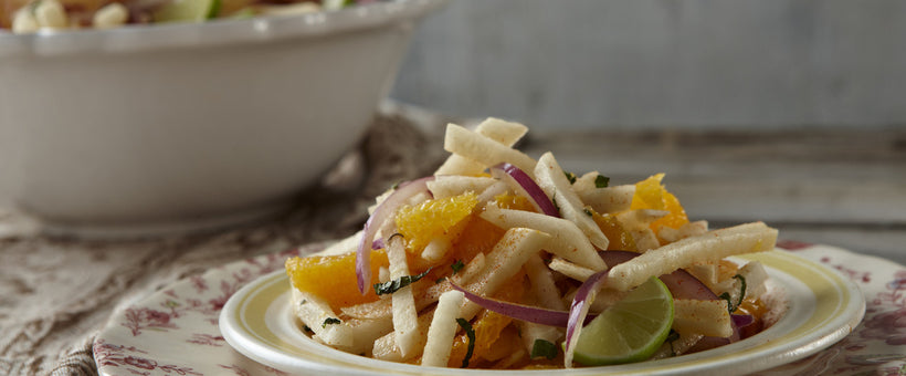 Prebiotic-Packed Power Recipe: Jicama, Orange and Onion Salad