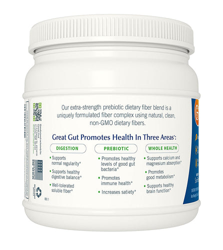 Great Gut® Extra-Strength Prebiotic Dietary Fiber