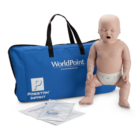 Prestan Infant CPR-AED Training Manikin with CPR Monitor