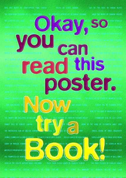 Try reading a Book!