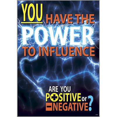 You have the power to…