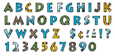 Natural Elements 4-Inch Venture Uppercase