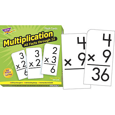 Multiplication 0-12 (All Fact)