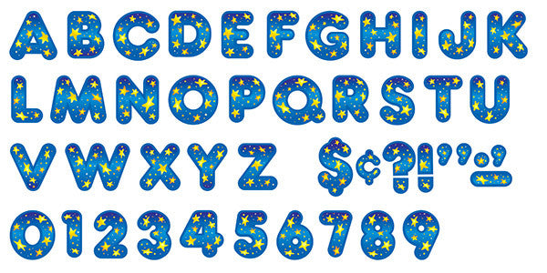 Star Bright 2-Inch Casual Uppercase