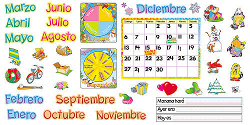 Calendario Mensual with Cling (SP)