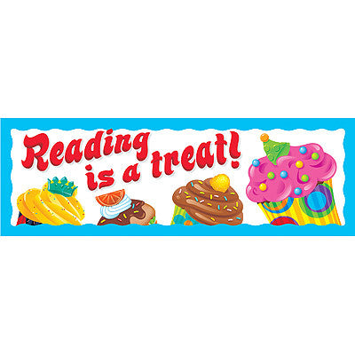 Reading is a treat! (The Bake Shop™)
