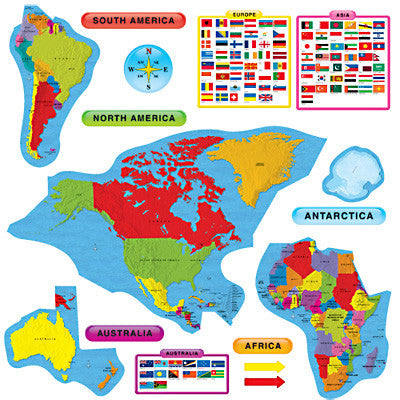 Continents & Countries