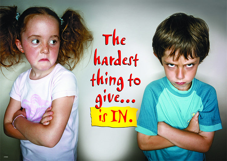 The hardest thing to do is...