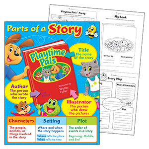 NEW!	Parts of a Story Playtime Pals™