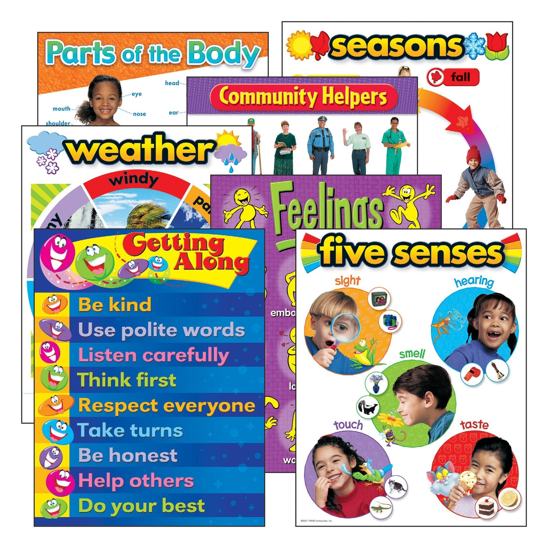 More Basic Skills Learning Charts Combo Pack