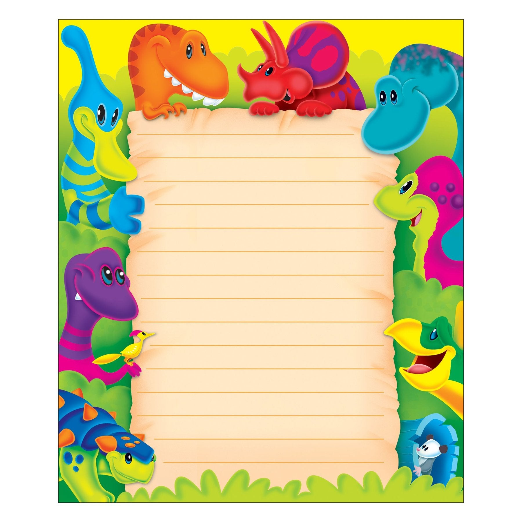 Dino-Mite Pals® Note Pad – Rectangle
