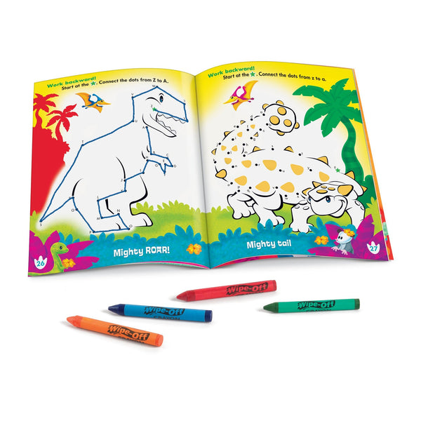 A to Z Dino Dot-to-Dot Wipe-Off® Book