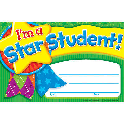 I'm a Star Student - (Star Medal)
