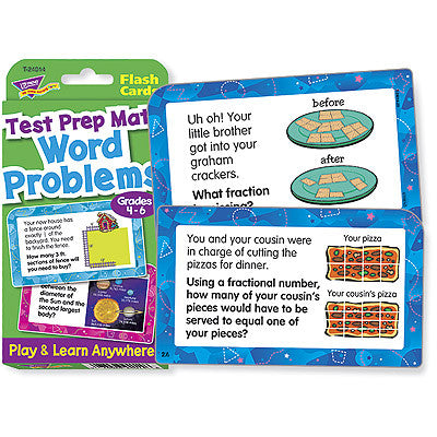Word Problems Test Prep Math, Grades 4-6