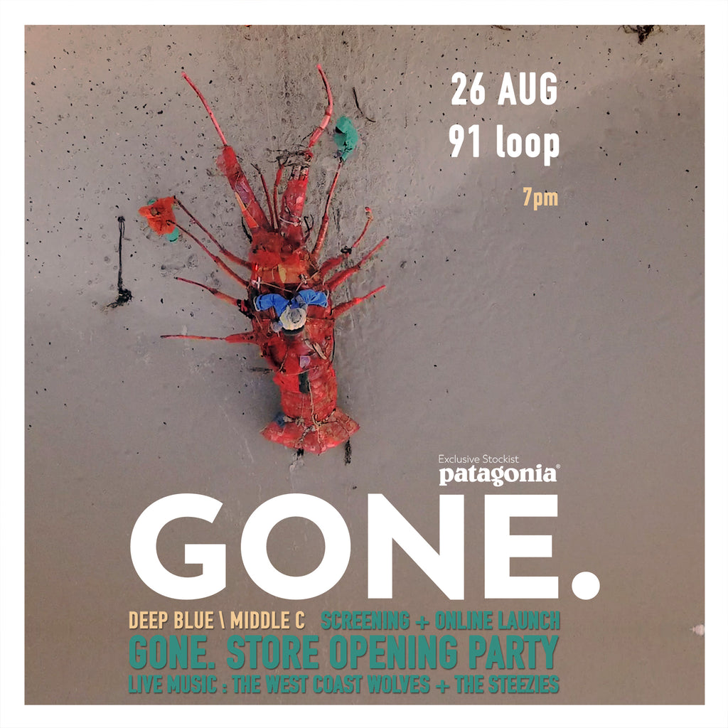 Gone. Grand Opening Details