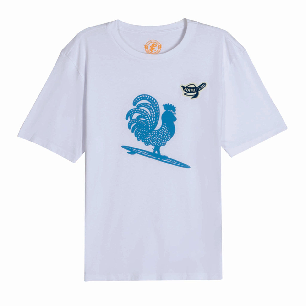 Mens Surfing Cockerel Tee
