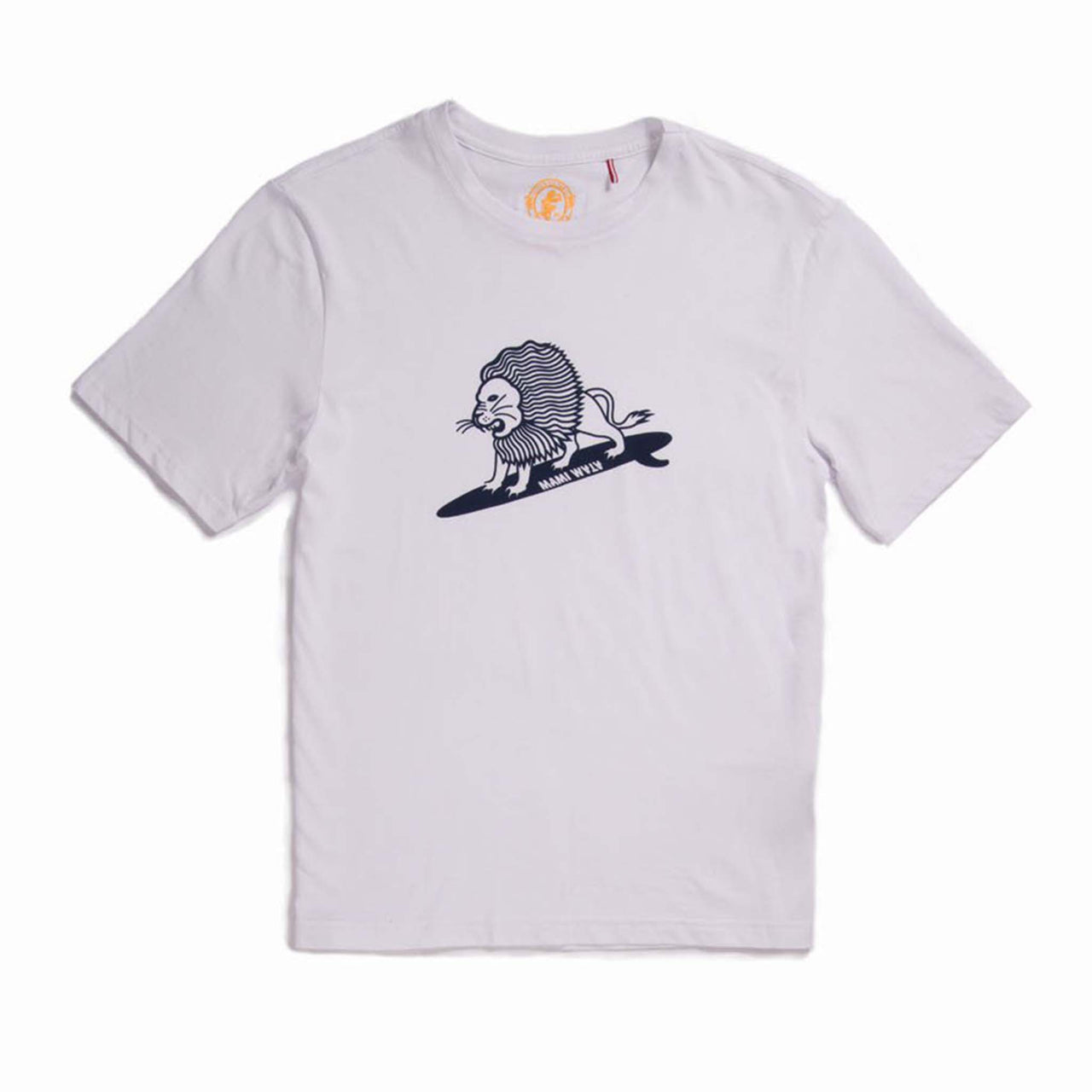 Mens Surfing Lion Tee