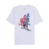 Mens Three Surfing Zebras Tee