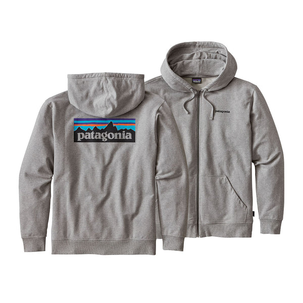 Mens P-6 Logo MW Full-Zip Hoody
