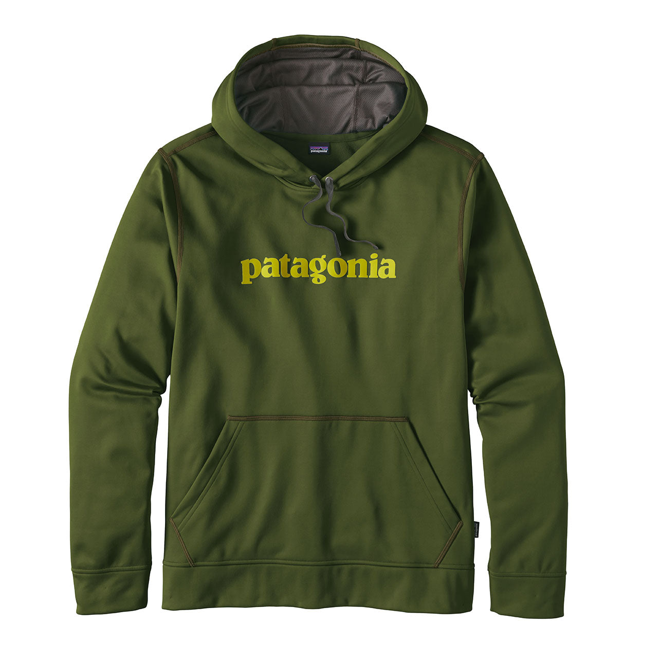 Mens Text Logo PolyCycle Hoody