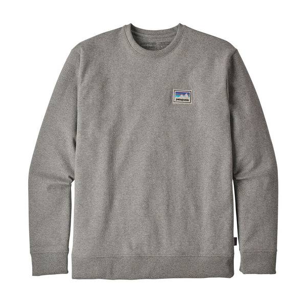Mens Shop Sticker Patch Uprisal Crew Sweatshirt