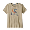 Womens On Rail Organic Crew T-Shirt