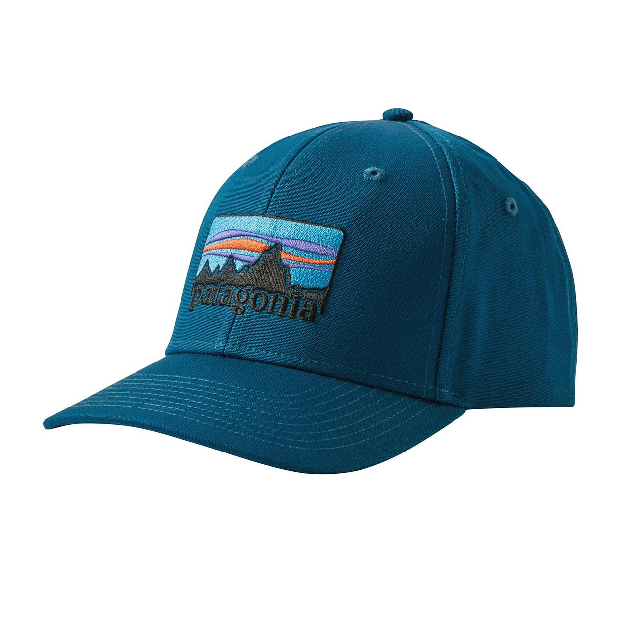 Patagonia_'73 Logo Roger That Hat_Big Sur Blue_ALL