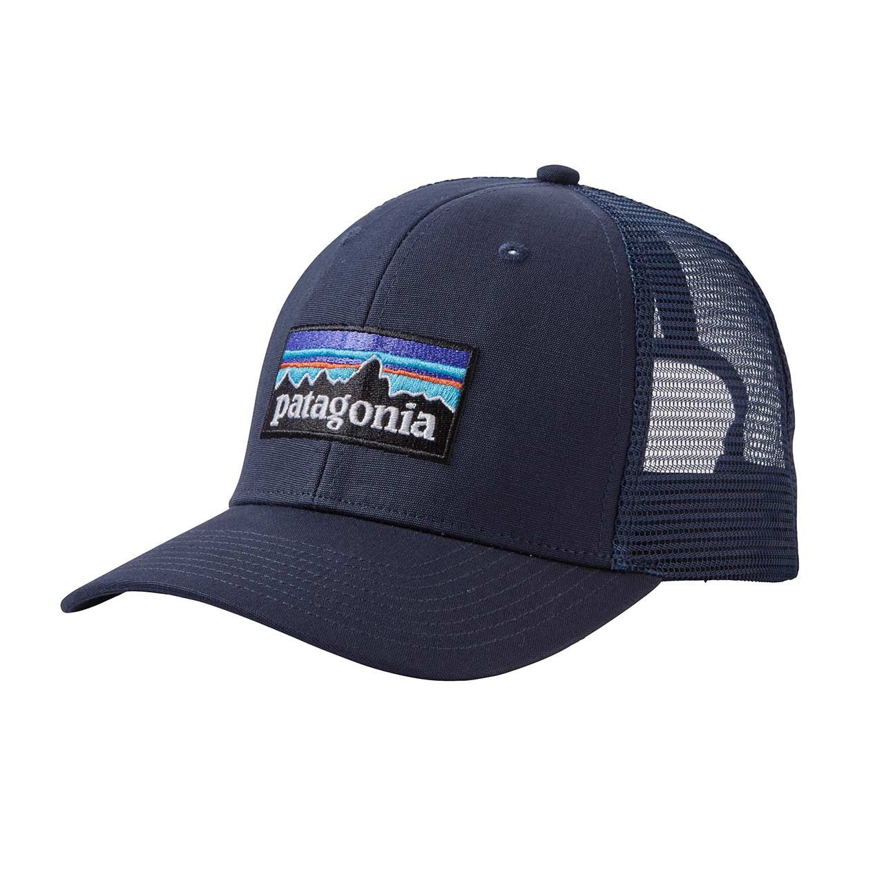 8fccdf55d4a Patagonia P-6 Logo Trucker Hat Black ALL