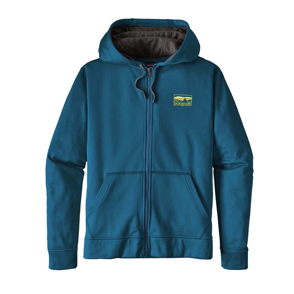 Patagonia_M's '73 Logo PolyCycle Full-Zip Hoody_Big Sur Blue_S
