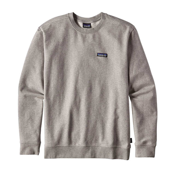 Patagonia_M's P-6 Label MW Crew Sweatshirt_Feather Grey_L
