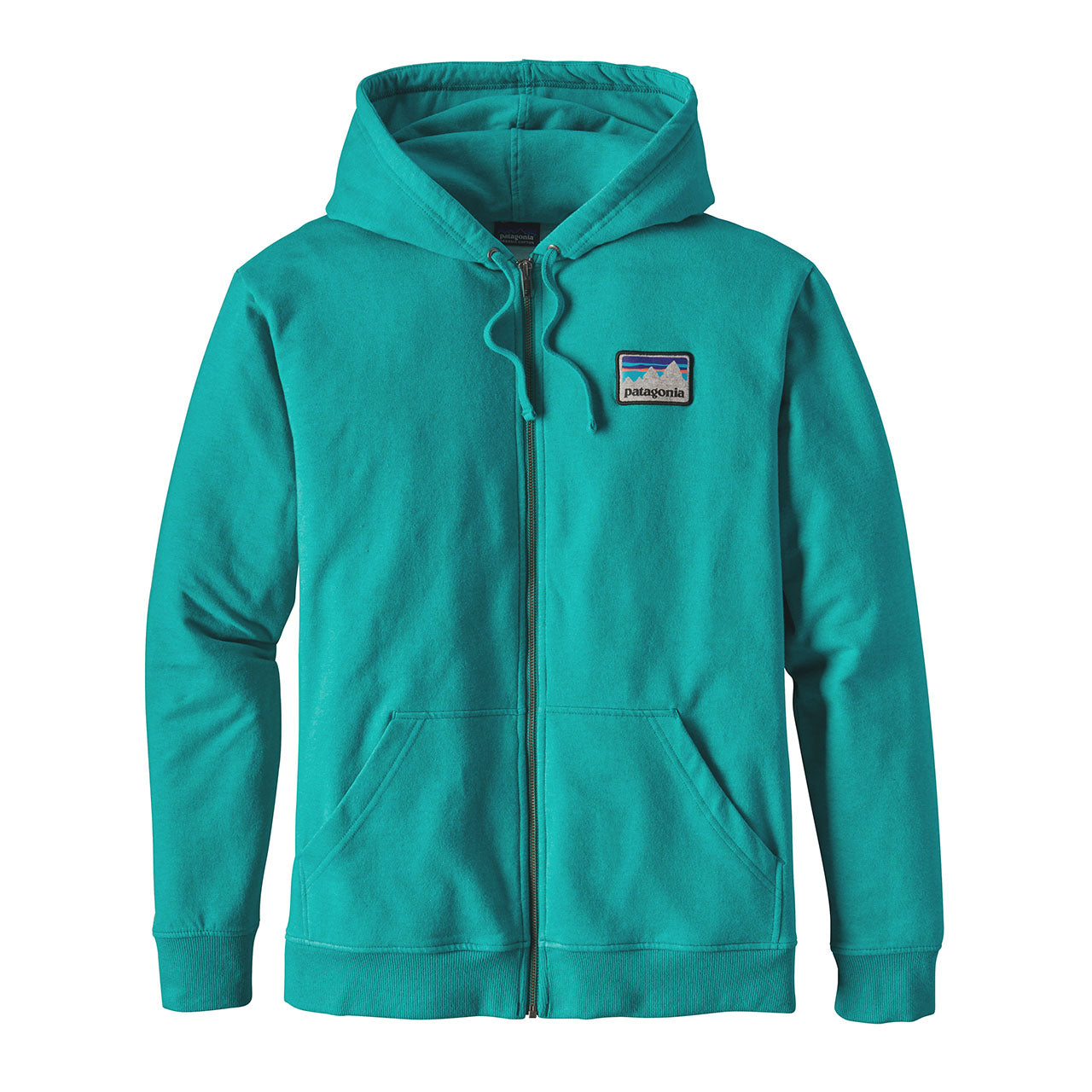 Mens Shop Sticker Patch MW Full-Zip Hoody