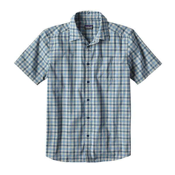 Patagonia_M's Fezzman Shirt - Slim Fit_Costa Small: Big Sur Blue_S