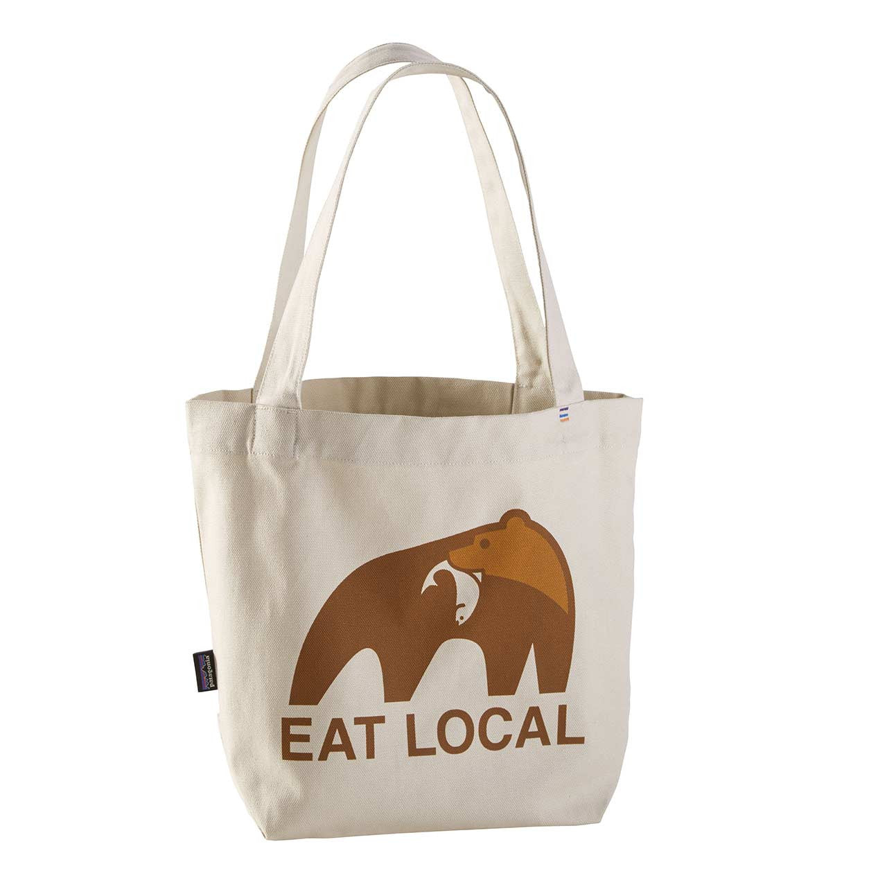 Patagonia_Mini Tote_Eat Local Upstream: Bleached Stone_ALL
