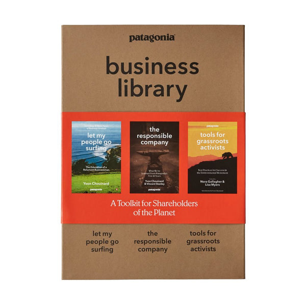 Patagonia Business Library (3 paperback books)