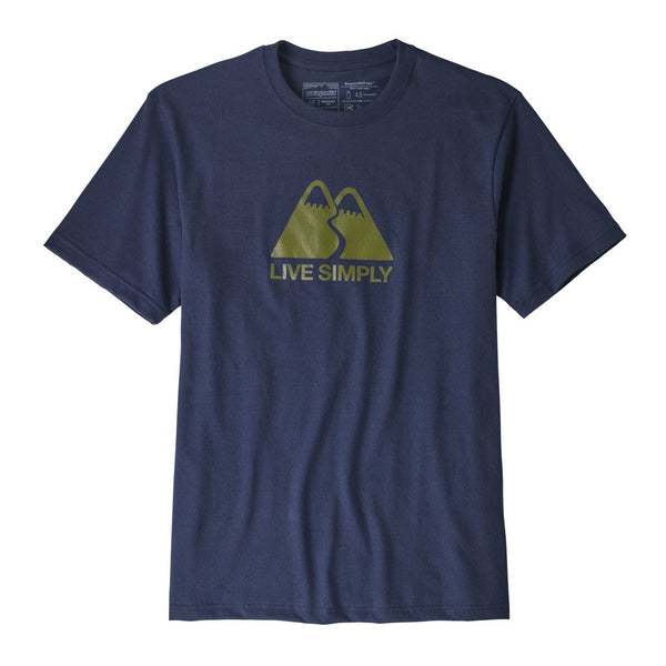 Mens Live Simply Winding Responsibili-Tee