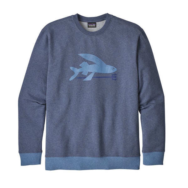 Mens Flying Fish Midweight Crew Sweatshirt