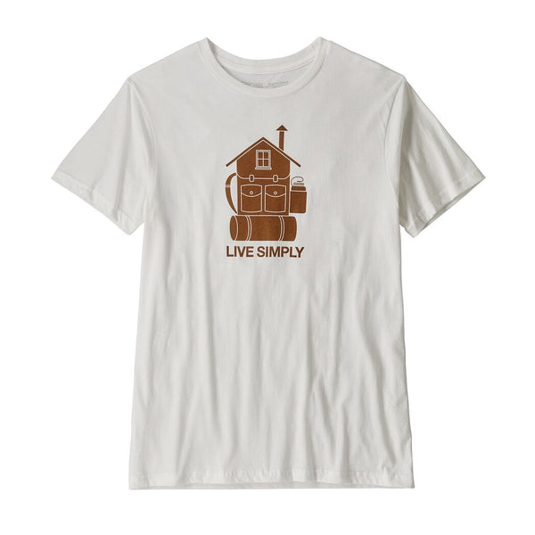 Mens Live Simply Home Organic T-­Shirt